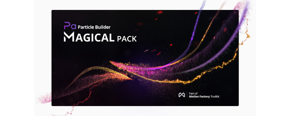 Pixflow Particle Builder | Magical Pack for After Effects