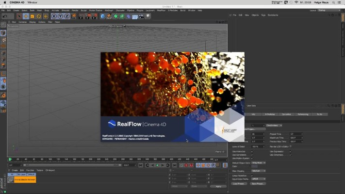 NextLimit RealFlow 2 6 4 0092 for Cinema 4D R17 R18 R19 Full